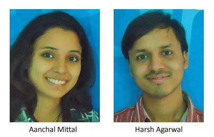 Aanchal Mittal & Harsh Agarwal add Another Feather in WE School's Cap