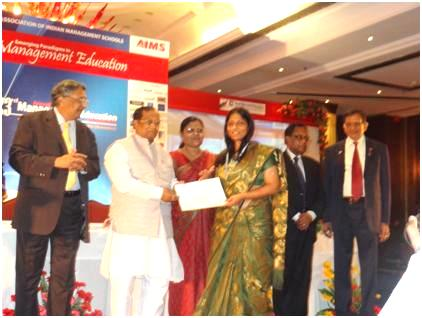 J. L. Batra Best Research Paper Award for Prof Dr. Githa Heggde