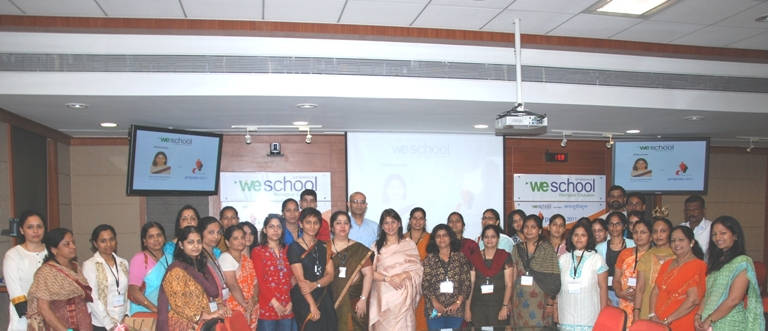 PRAYAAS – 2011 A  WeSchool Initiative To Unleash India's Women Power on the Occasion of Gandhi Jayanti