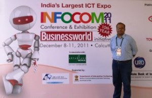 Himanshu Kapadia at Infocom awards