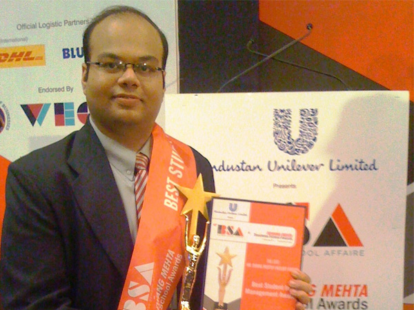 Mission Accomplished …Himanshu Kapadia Does It Again By Winning The IFLA AWARD…