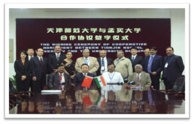Dr Uday Salunkhe in Mumbai University Delegation to China