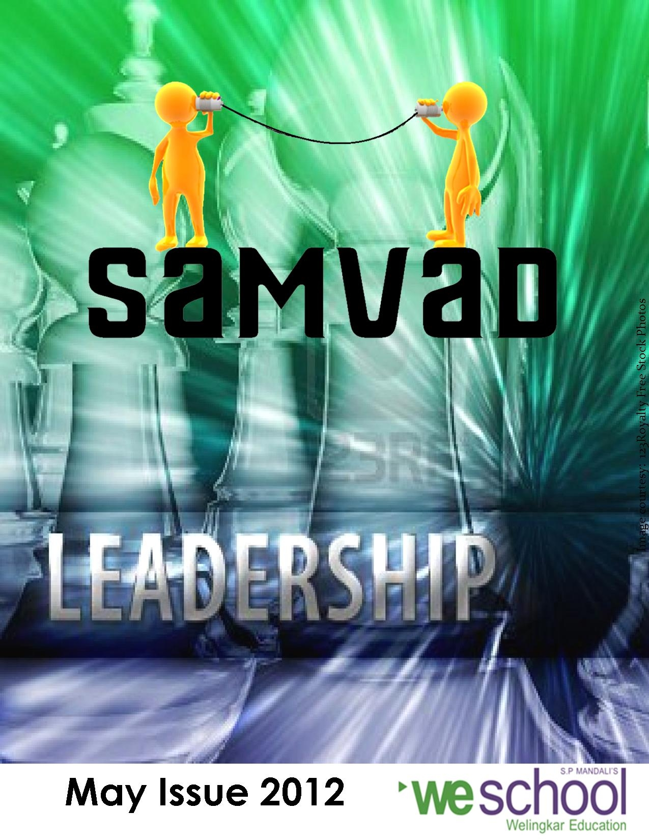 'Leadership in education', in the latest issue of Samvad...
