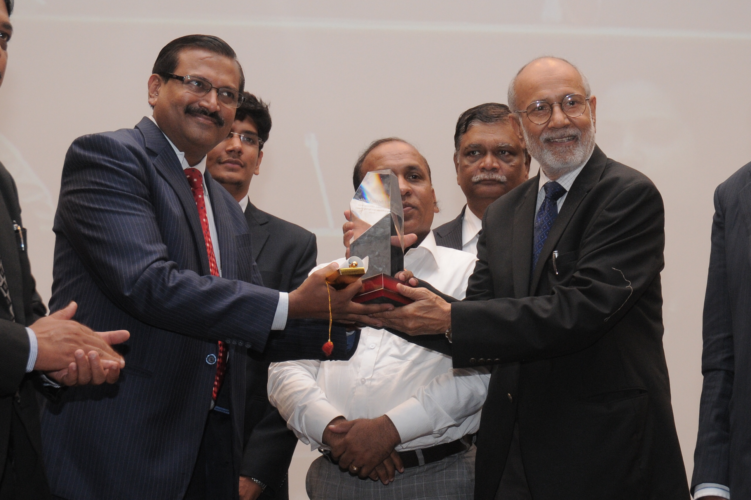 Prof. Dr. Uday Salunkhe, Group Director, WeSchool, felicitated at the 24th AIMS Annual Management Education Conference 2012