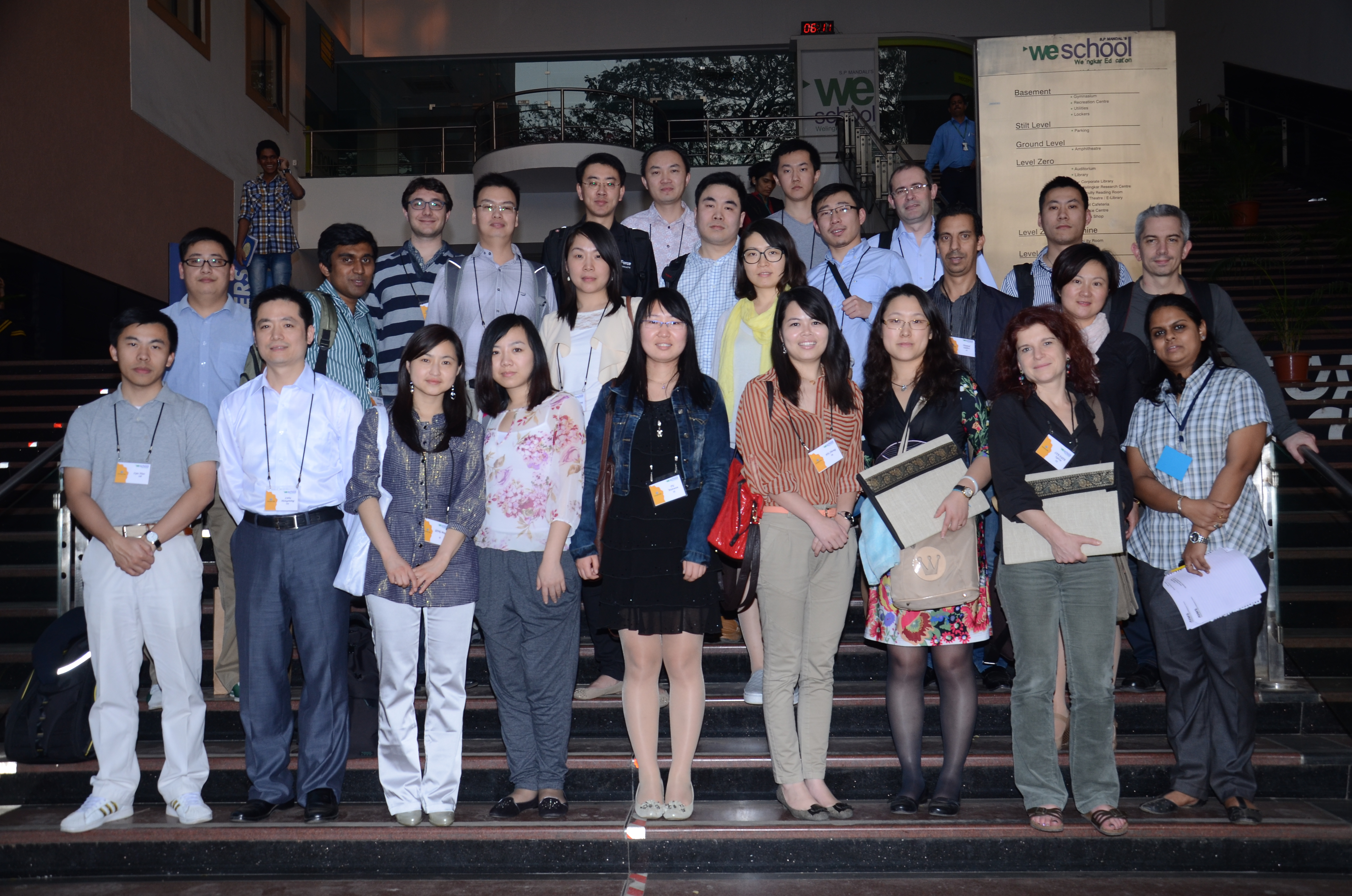Chinese Executive MBA students from Euromed Management, Marseilles  hosted by WeSchool