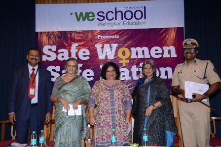 'Safe Women Safe Nation' conducted by WeSchool concluded with actionable takeaways