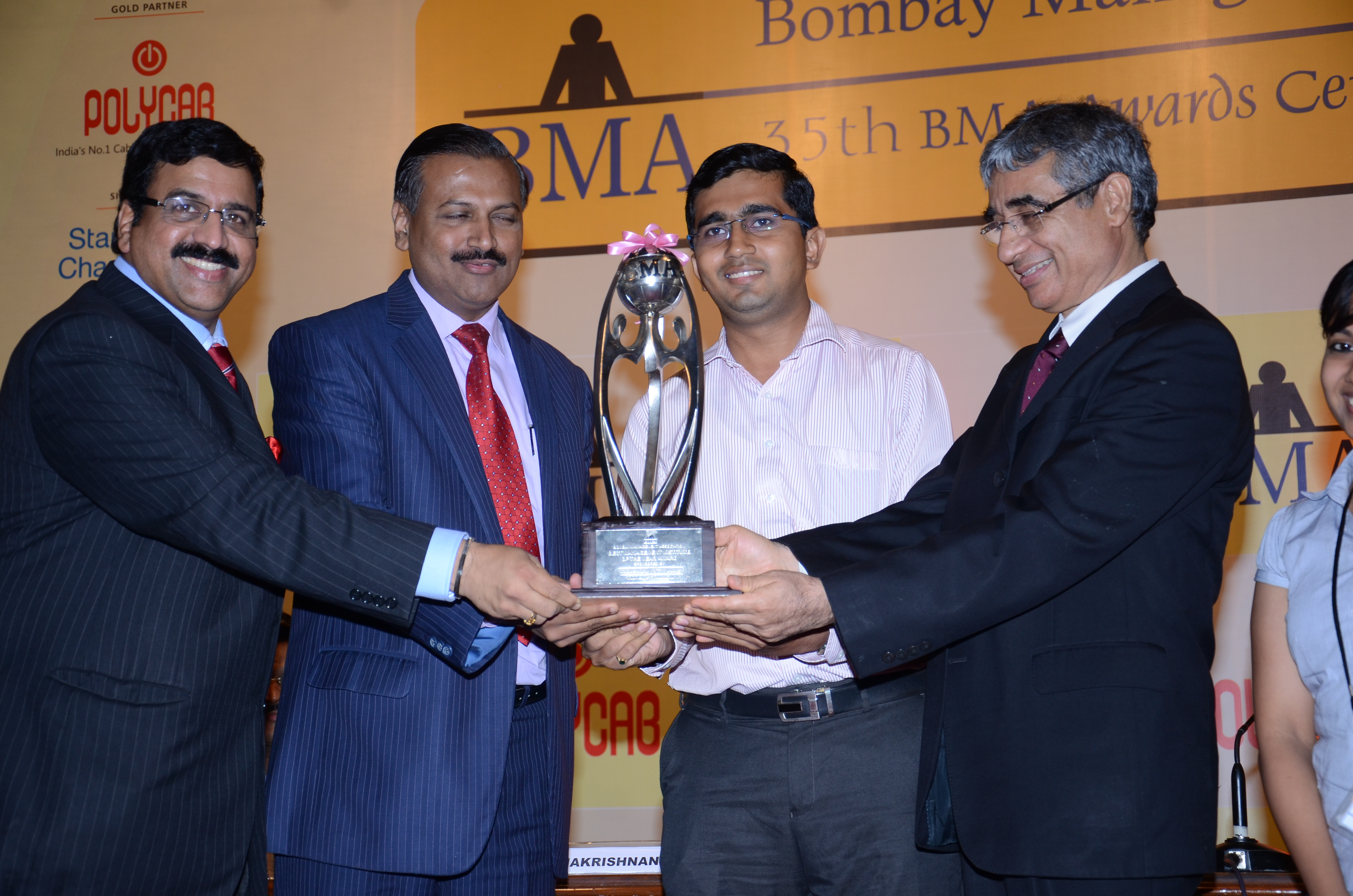 Bombay Management Association confers 'Outstanding Institute of Management of the Year' award upon WeSchool
