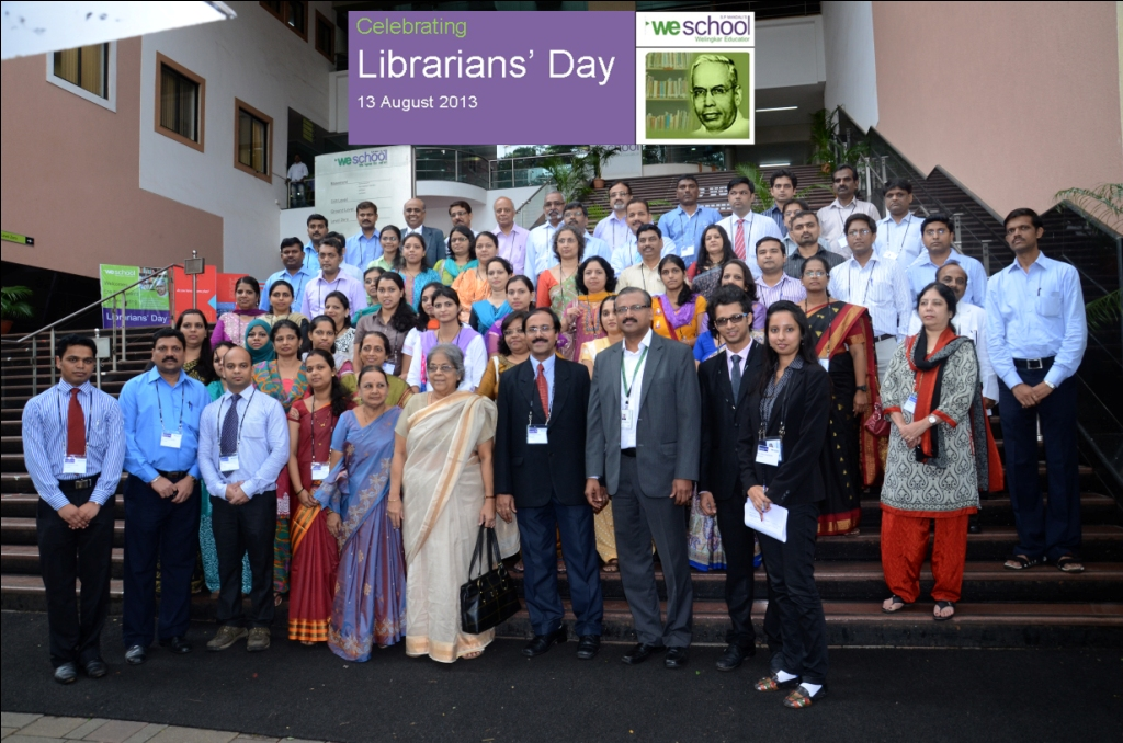 WeSchool celebrates Librarians Day to deliberate on the use of technology to connect with GenY