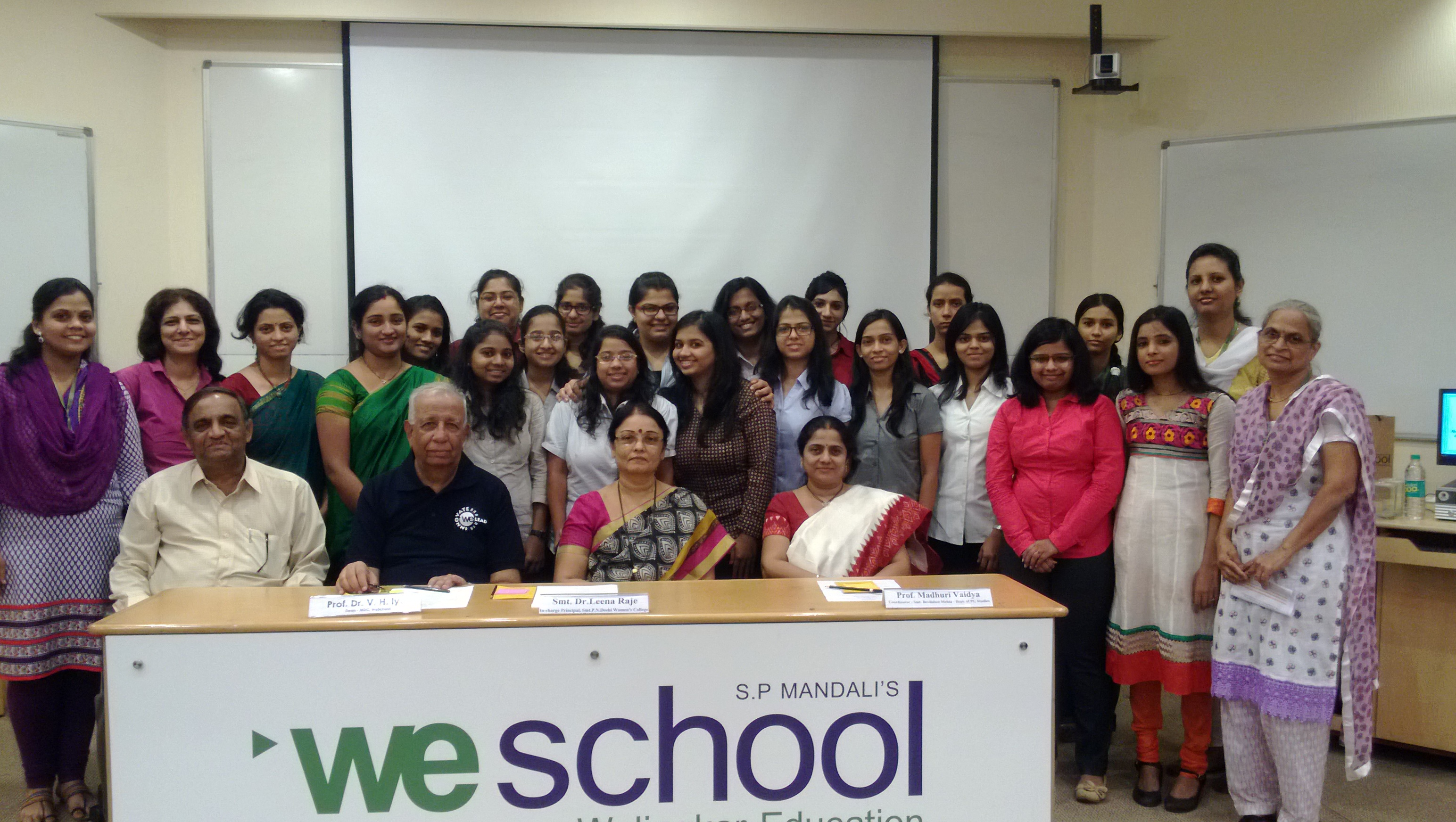 Psychologists learn all about industrial relations and labour laws at WeSchool
