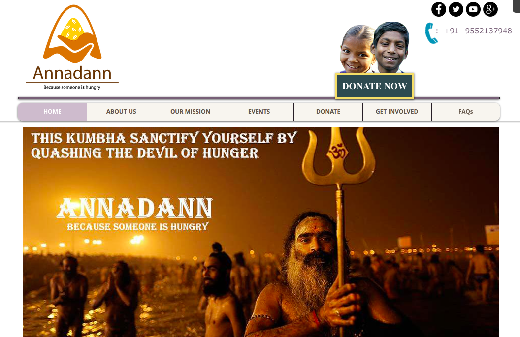 Annadan,a traditional concept acquires a new meaning during Kumbh