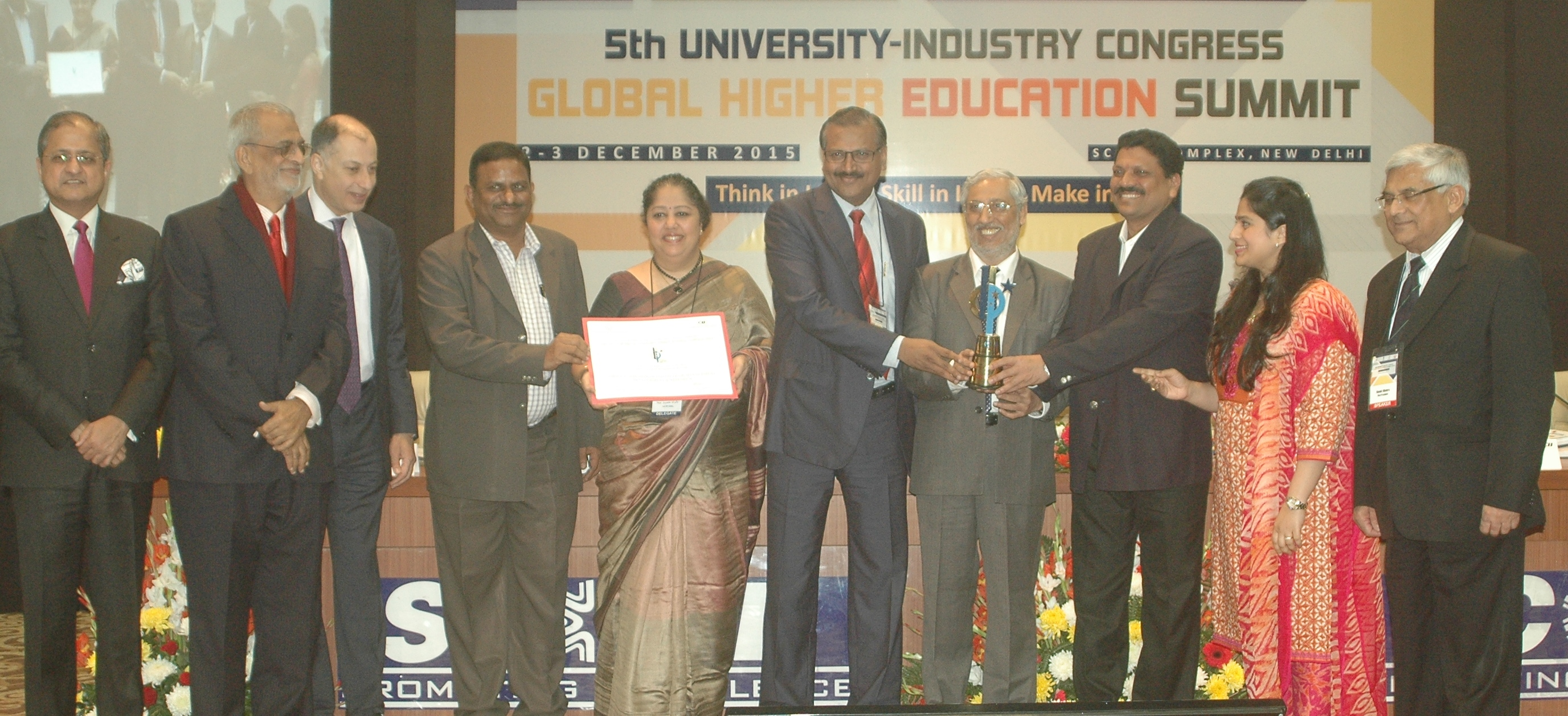 WeSchool Bags AICTE-CII National Award For 'Best Industry Linked Management Institute' In India