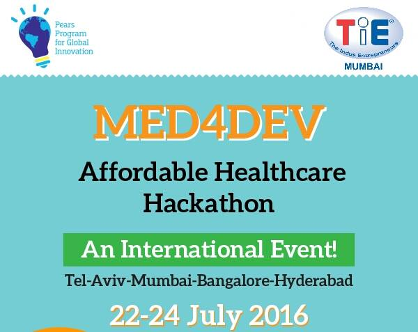 An innovative era in India-Israel relations begins at WeSchool with Med4Dev India-Israel Affordable Healthcare Hackathon