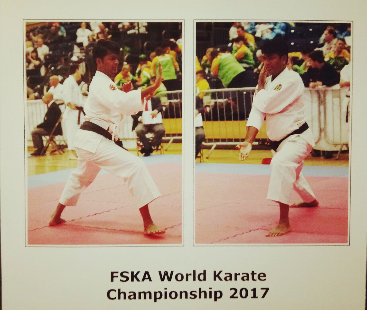 Ameya a young karateka from WeSchool wins Gold medal at the 19th FSKA World Karate Championship 2017