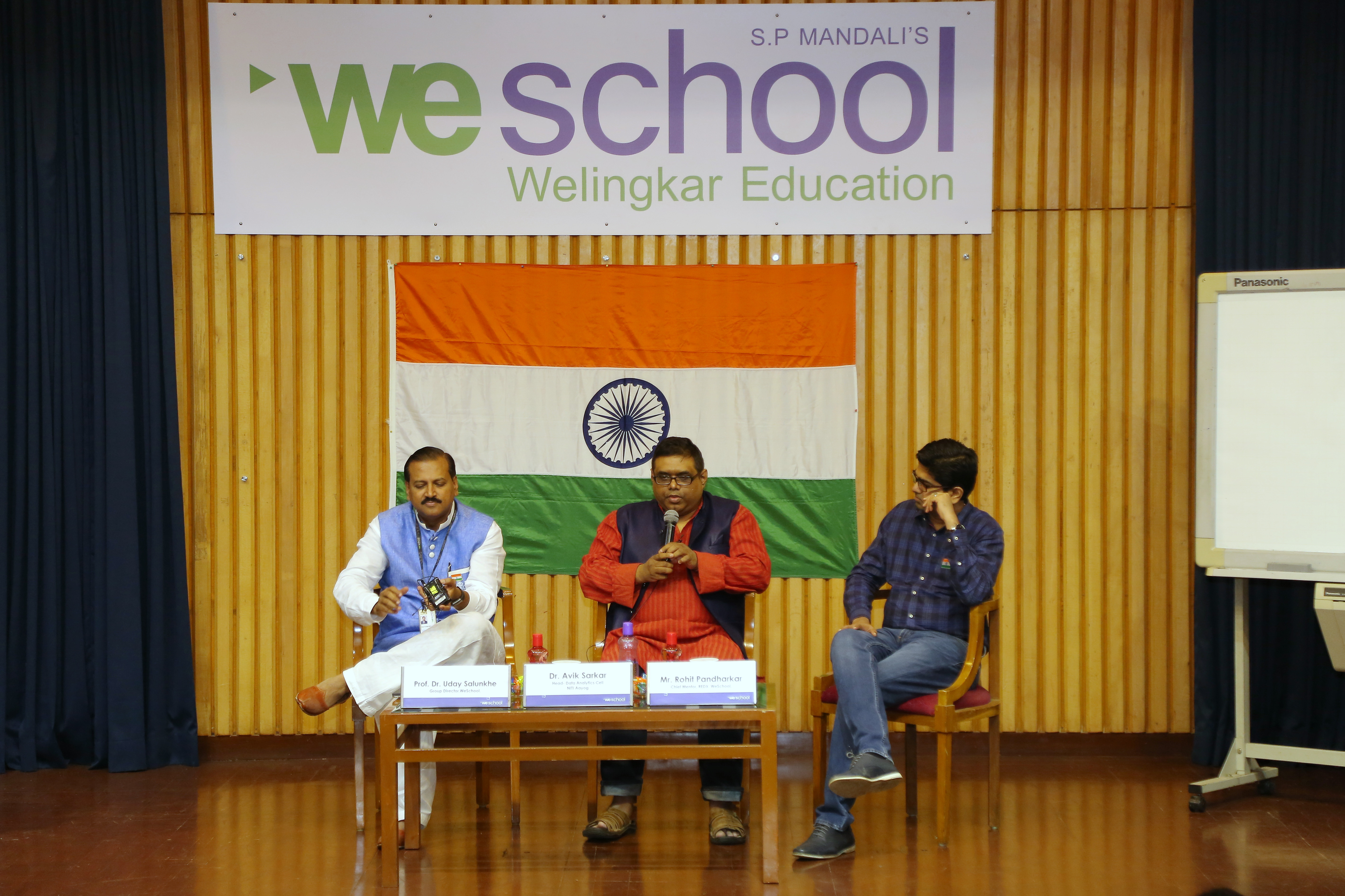 72nd Independence Day Celebration on WeSchool campus