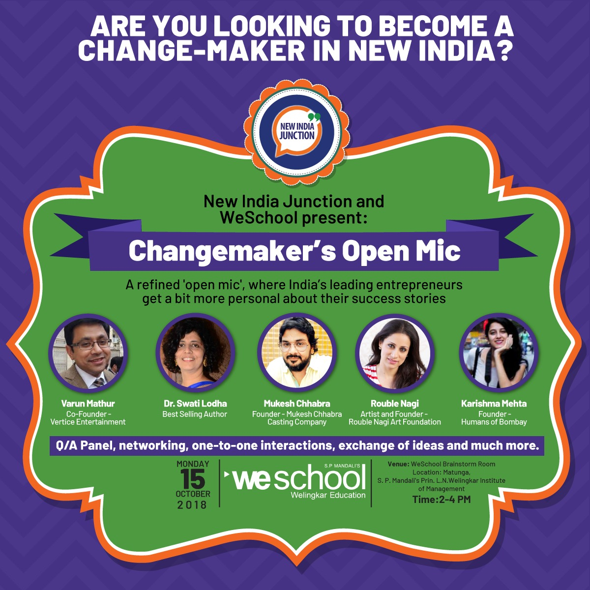 WeSchool welcomes the changemakers
