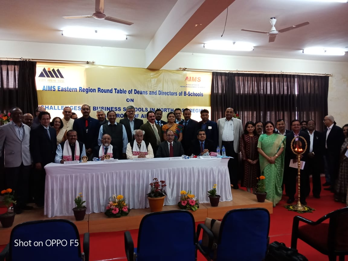 Eastern Region Roundtable of Deans and Directors of Association of Indian Management Schools
