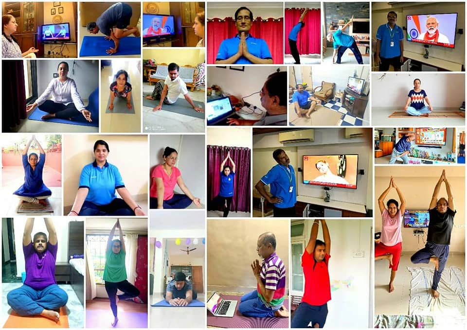 International Yoga Day 2020 #YogaFromHome