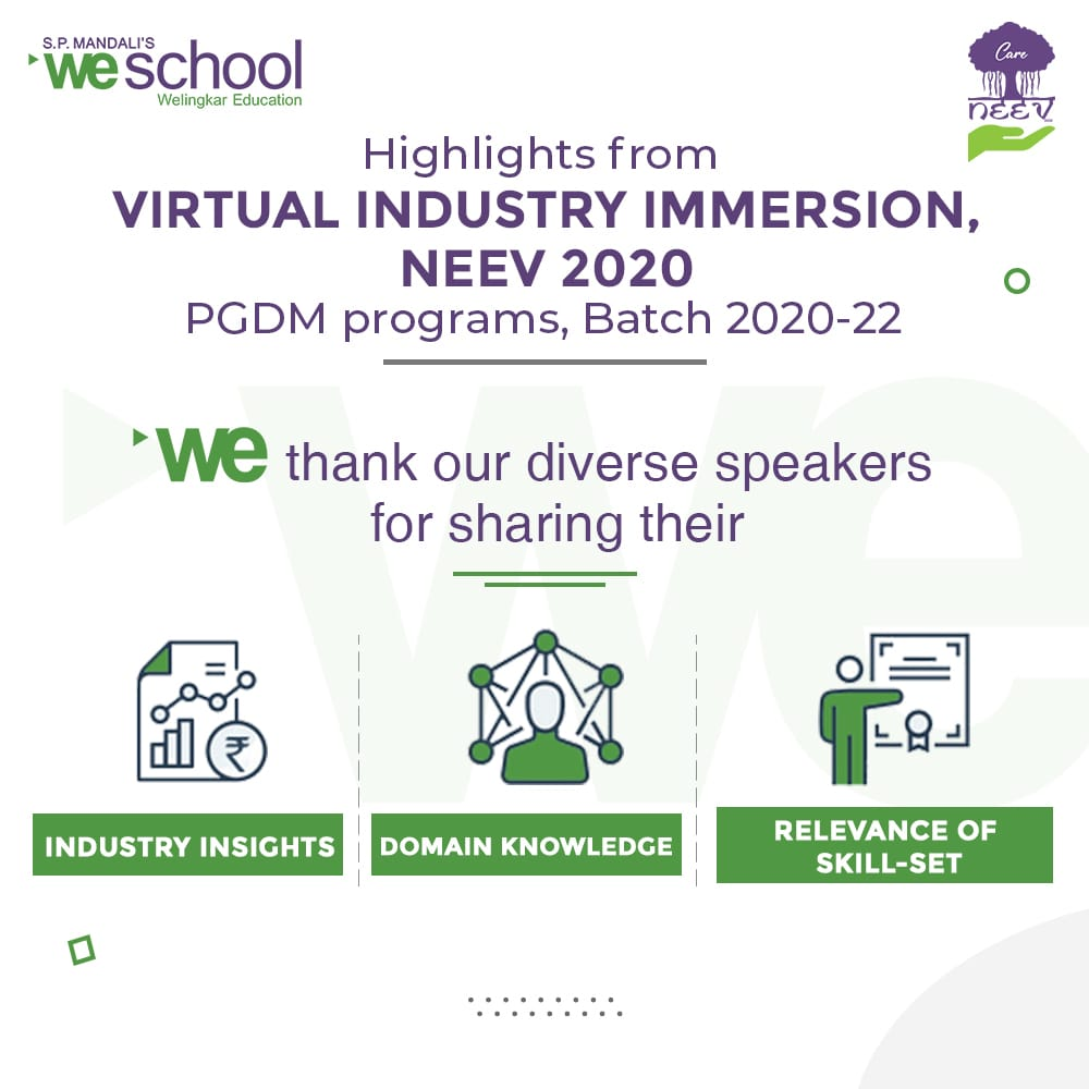Virtual Immersion @NEEV 2020, Bengaluru Campus – Week Two