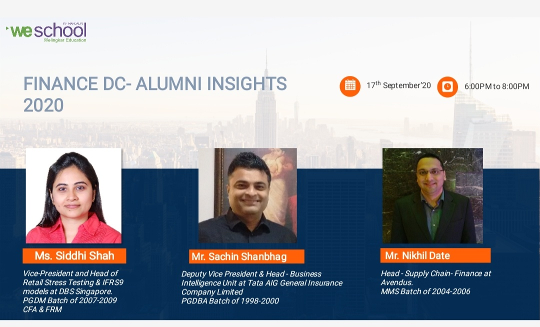 Alumni Insights 2020 -Finance